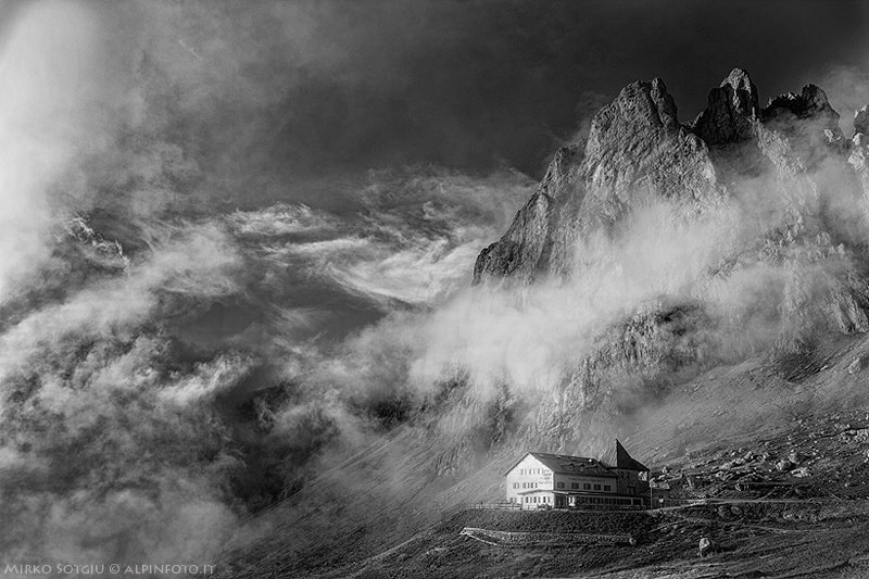 Photograph After the storm, before the sunset in Dolomiten by Mirko Sotgiu on 500px