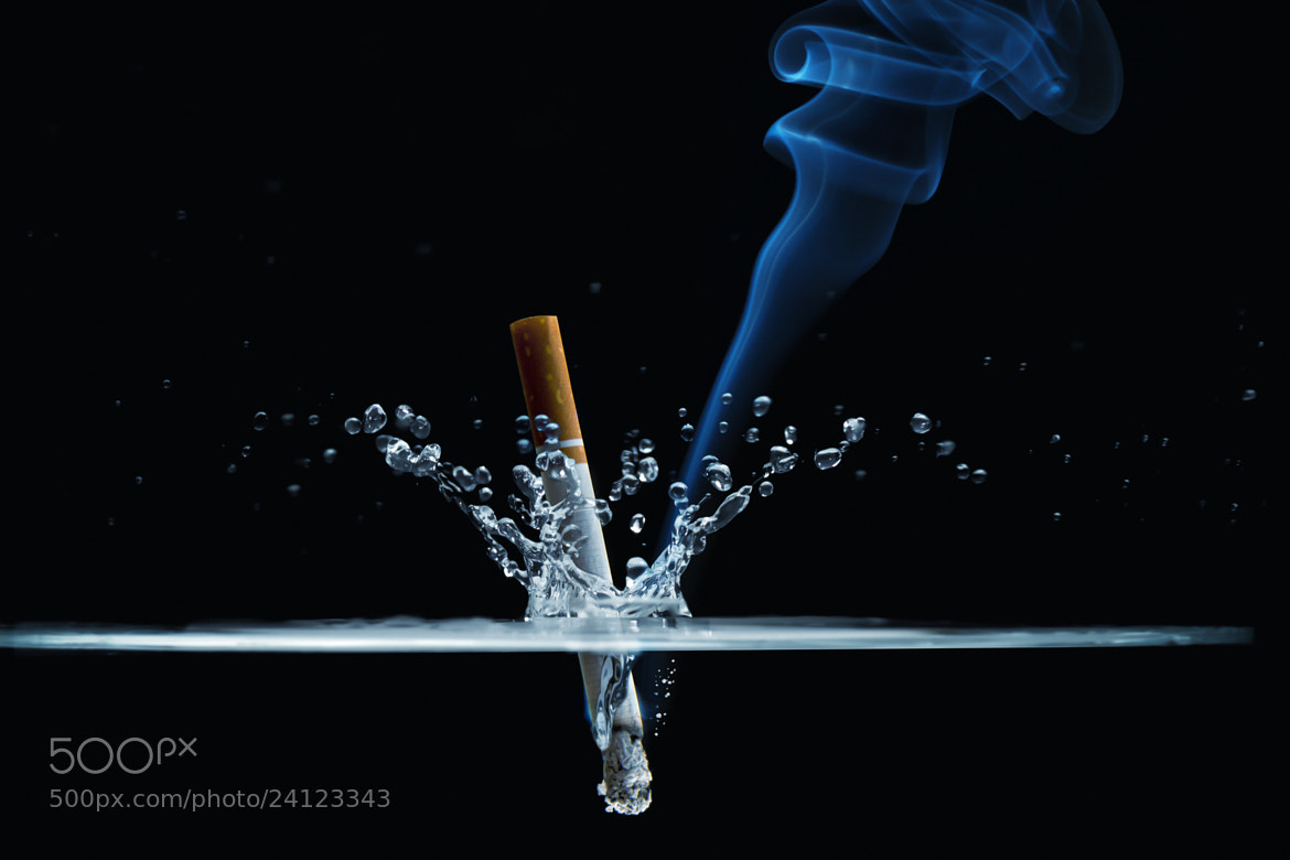 Photograph The suicidal cigarette by John Wilhelm on 500px