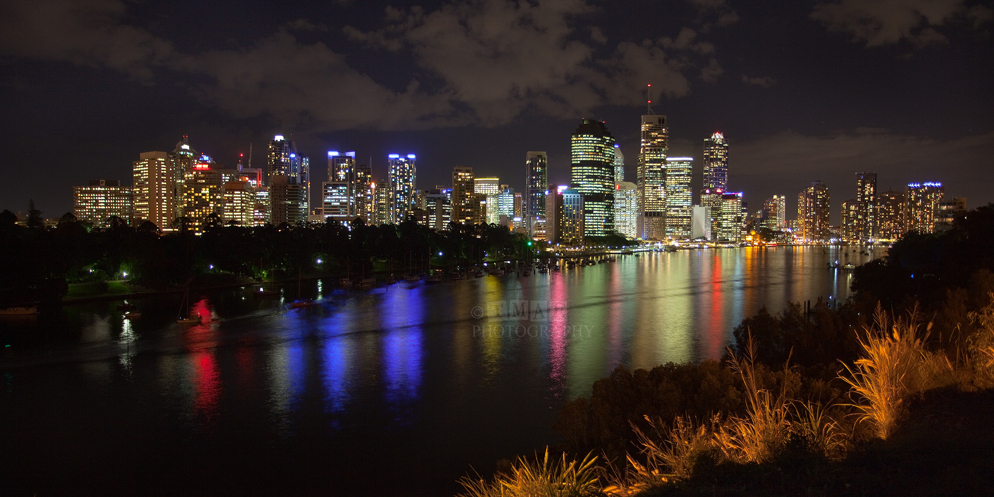 Photograph Brisbane by Night by Tim McGuire on 500px