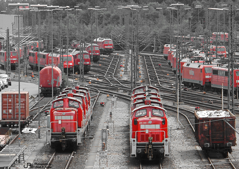 Photograph Railway yard by Ulrich R. Sieber on 500px