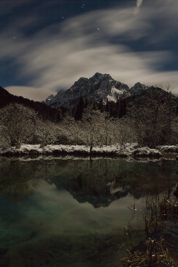 Photograph Zelenci beginning IV 550 sec by Bor Rojnik on 500px
