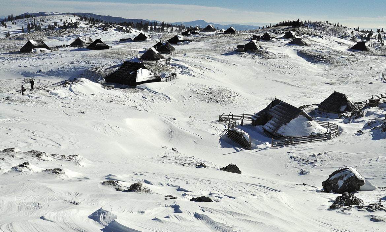 Photograph Mountain village by Gitta Sladič on 500px