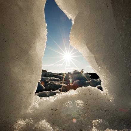 Sunset & Iceberg