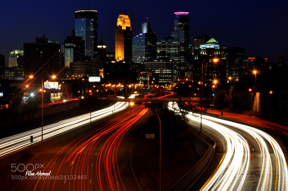 Photograph Minneapolis Downtown skyline by Filsa Bint Ahmed on 500px
