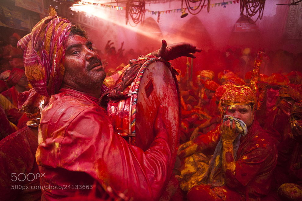 Photograph Holi, Festival of Colors, India by Jitendra  Singh on 500px