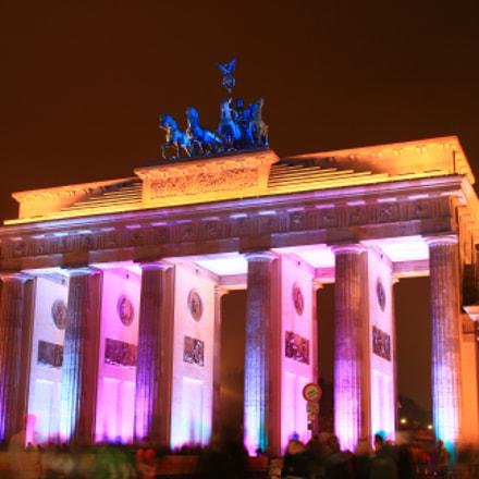 Das Brandenburger Tor, Canon EOS 400D DIGITAL, Sigma 18-50mm f/3.5-5.6 DC