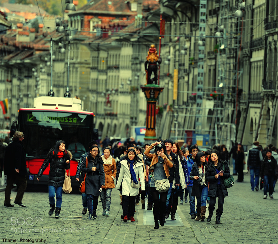 Photograph Tourists  by thamer saad on 500px