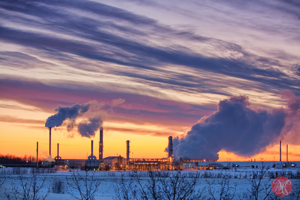Photograph Industrial at dawn by Kasia Sokulska on 500px