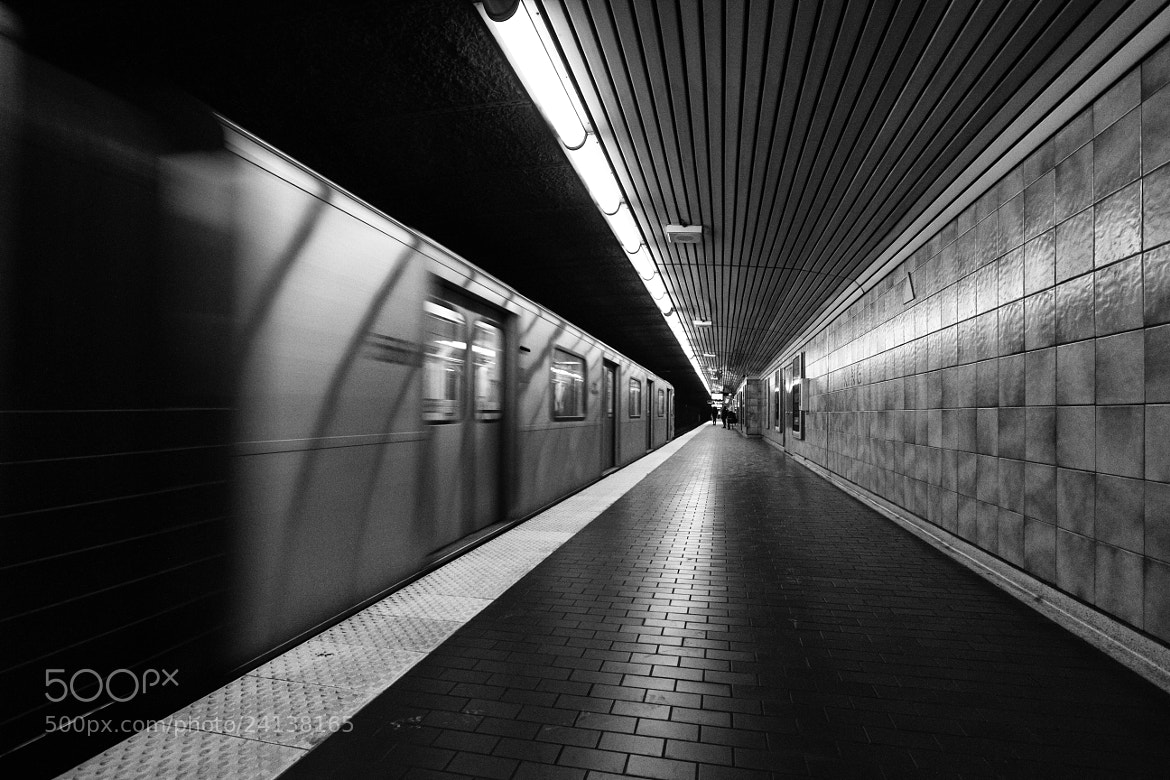 Photograph Arriving at King. King Station. by Ash Furrow on 500px