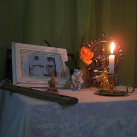 Altar @ Agni Yoga, Canon POWERSHOT SD950 IS