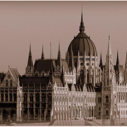 Parliament in Budapest, Hungary, Panasonic DMC-FZ30