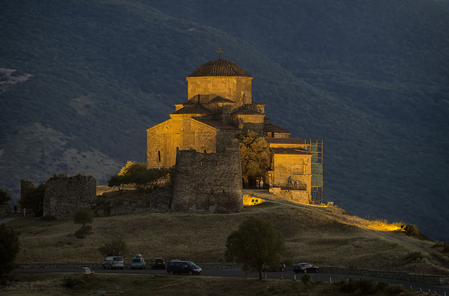 Jvari Monastery. Georgia., автор — Michael Kochiashvili на 500px.com