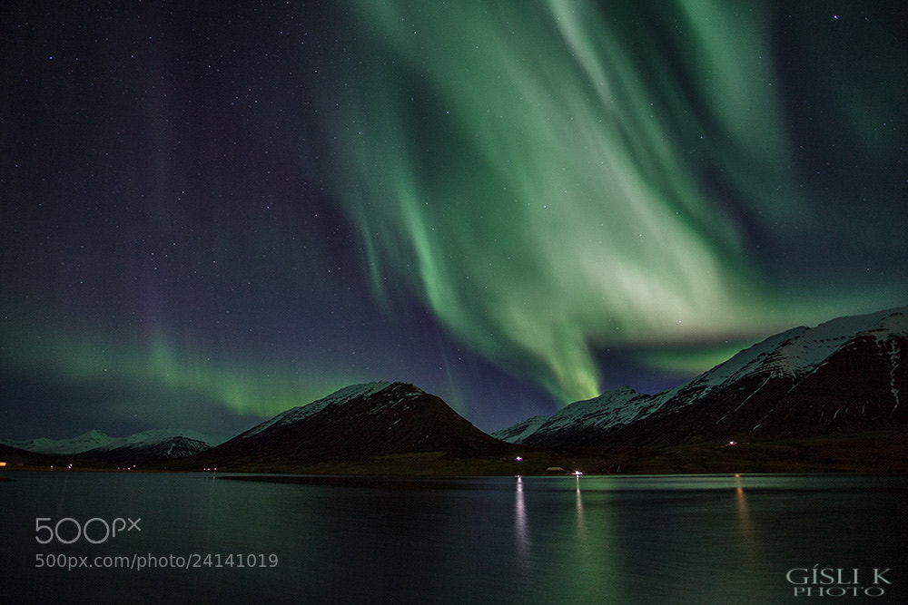 Photograph Olafsfjardarvatn by Gisli Kristinsson on 500px