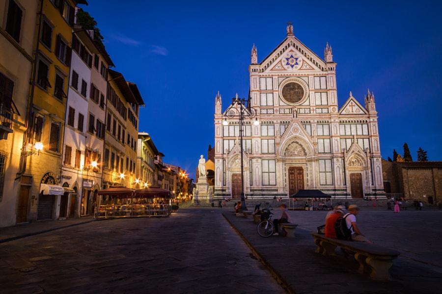 Piazza di Santa Croce, Florence by Jakub Buza on 500px.com