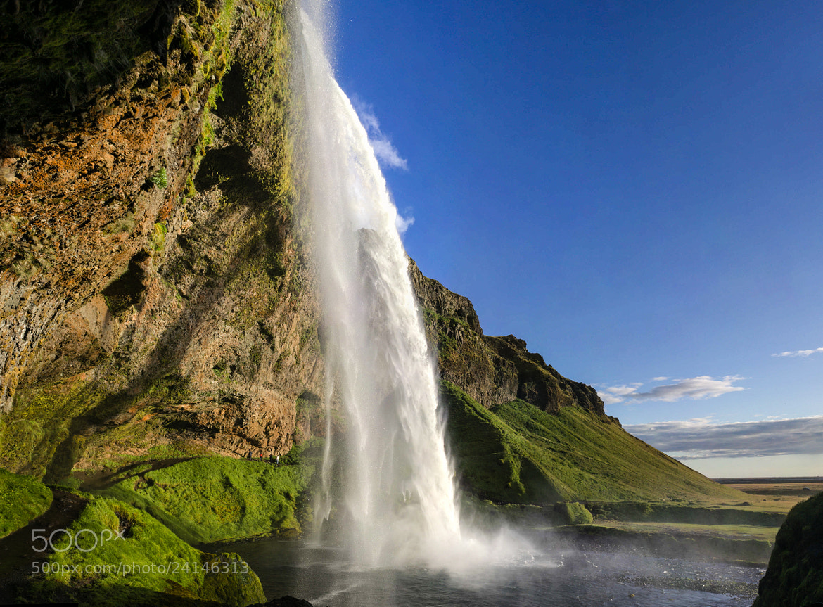 Photograph Waterfall from the sky by Jon Gretarsson on 500px