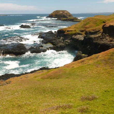 Coastline, Phillip Island, Panasonic DMC-FH25