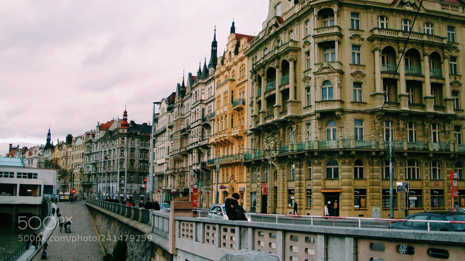 """Sony DSC-T300 sample photo. """"Lost in prague."""" photography"""