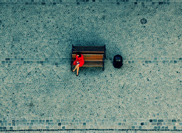 Photograph Lady in red by Anna Antonyshyn on 500px