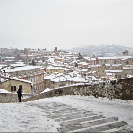 Perugia - Porta Sole, Canon IXUS 115 HS