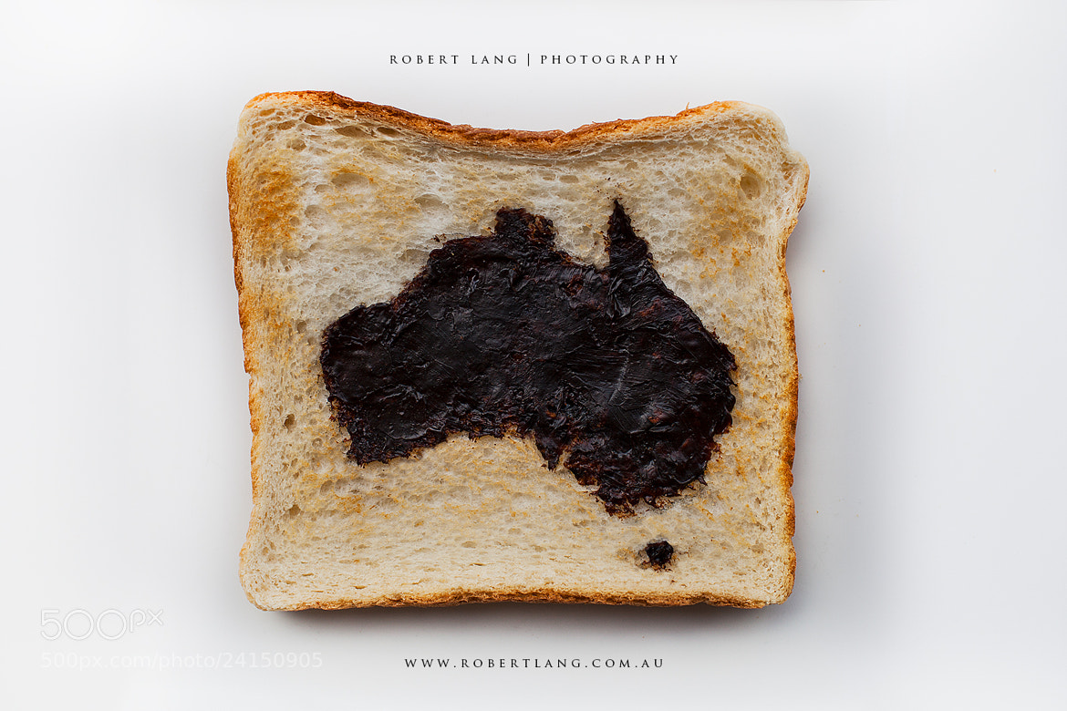 Photograph Vegemite on toast, Happy Australia Day! by Robert Lang on 500px