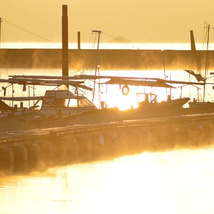 Winter......Morning, Nikon D3200, AF Zoom-Nikkor 70-300mm f/4-5.6D ED