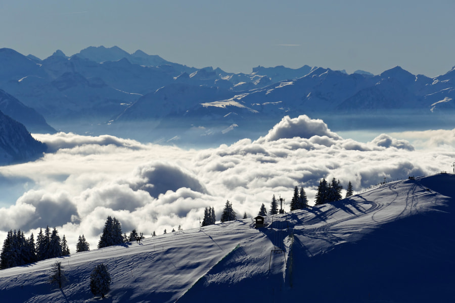 Rigi - Queen of the mountains, автор — Svetlana Povarova Ree на 500px.com
