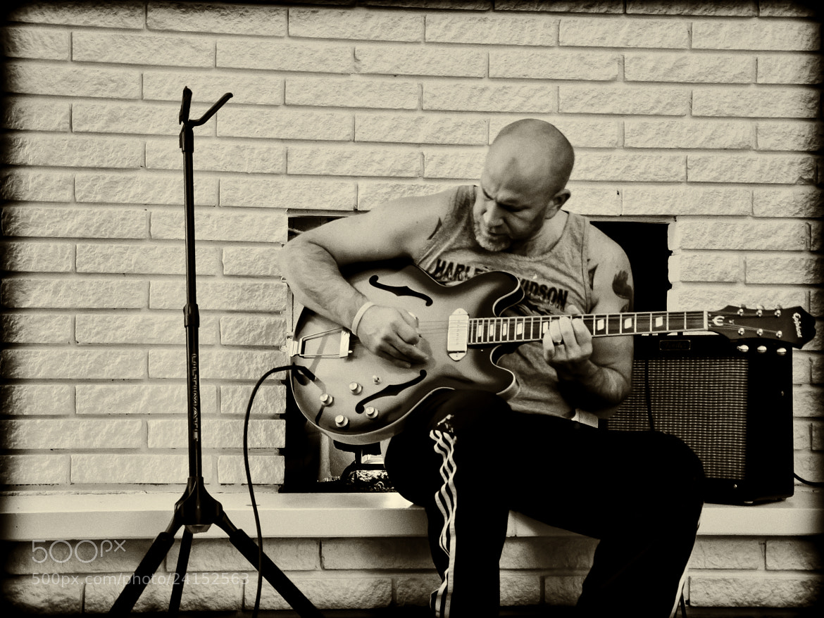 Photograph Guy with a Guitar by Steven Wosina on 500px