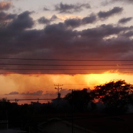 Last sunset of the, Sony DSC-T70