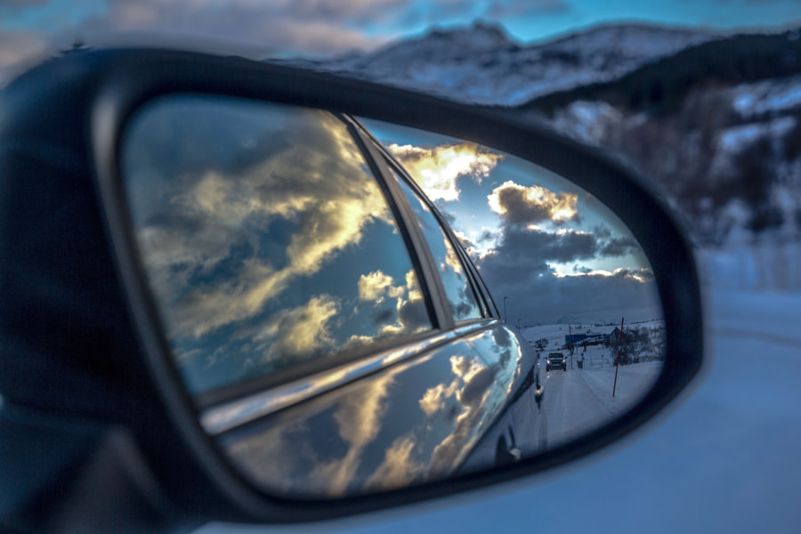 Rearview mirror..., автор — Luca Dauccia на 500px.com