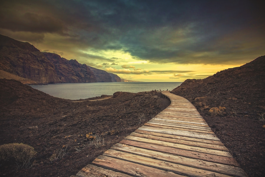 Walk to the sea, автор — Darius Birstonas на 500px.com