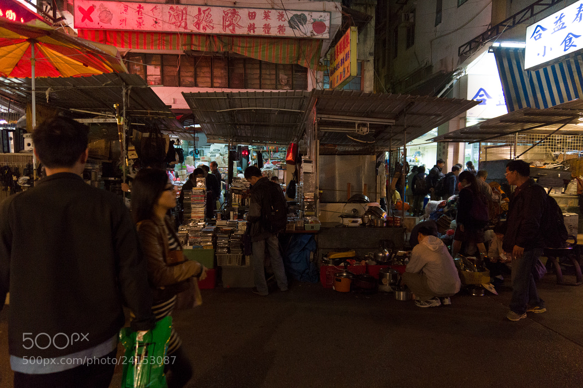 Photograph Night Stall  by Independence HK on 500px
