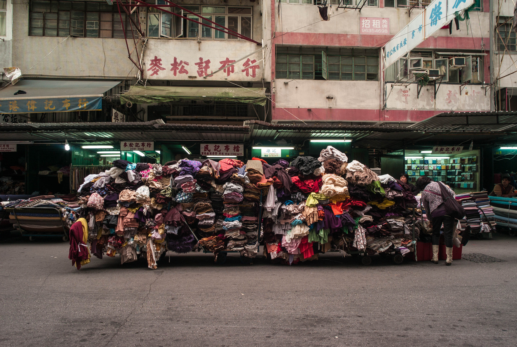 Photograph Fabric Cart by Kenneth Chong on 500px