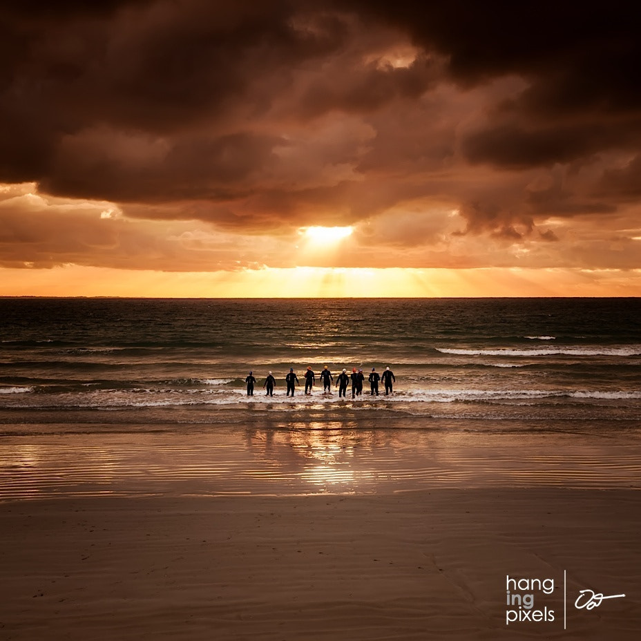Photograph Ocean Swimmers - Port Fairy, VIC by Oat Vaiyaboon on 500px
