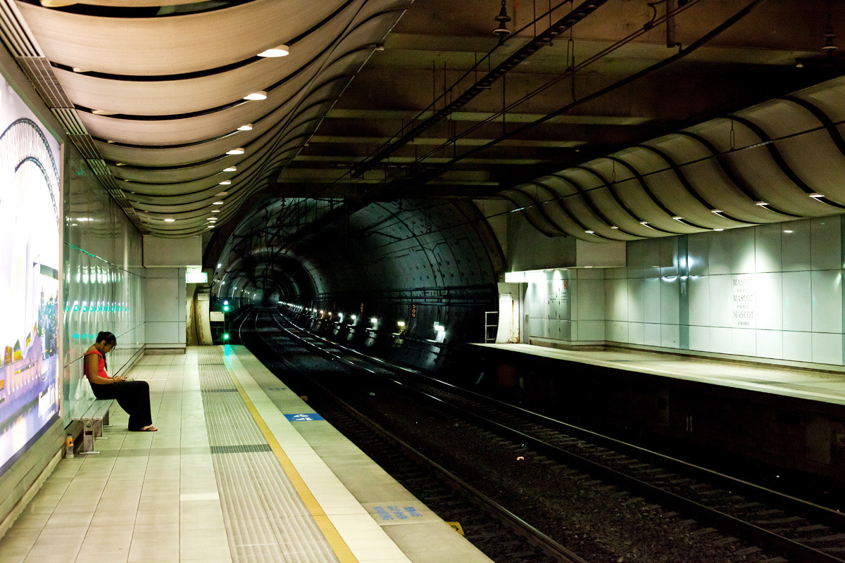 Photograph Time Tunnel Train Line by Raoul Isidro on 500px
