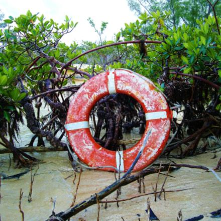 Ashore Life Preserver Ring, Nikon COOLPIX S700