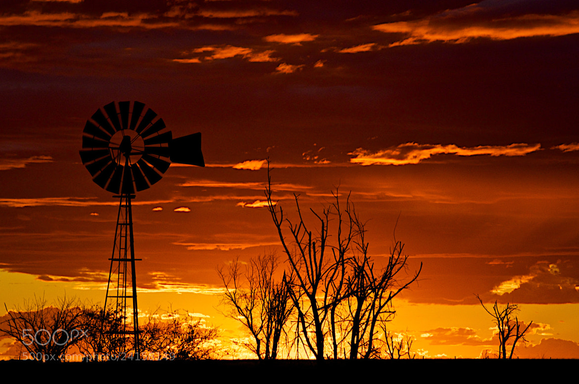 Photograph Windmill at Sunset - 08 by David Freeman on 500px