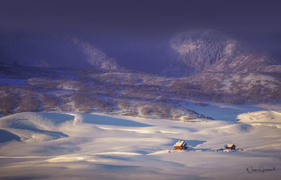 snow valley, автор — Wayne Jacobsen на 500px.com