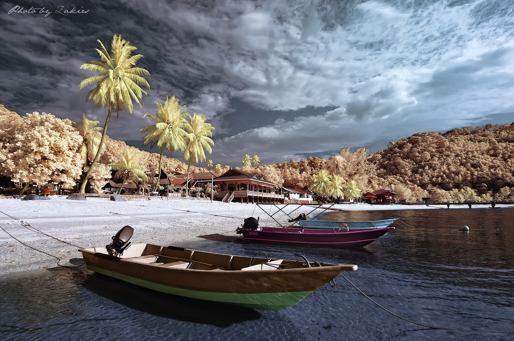 Photograph Take a rest.. Infrared by Mohd Zaki Shamsudin on 500px