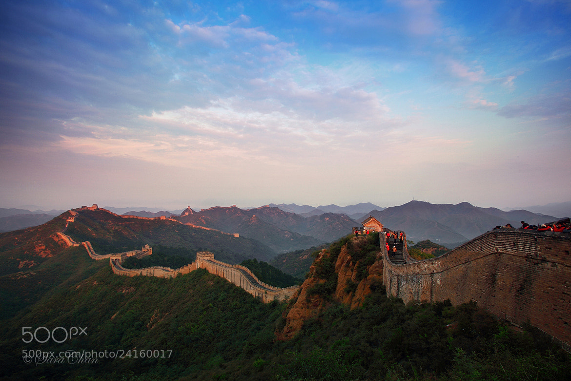 Photograph Amazing Great Wall by Sara Chan on 500px
