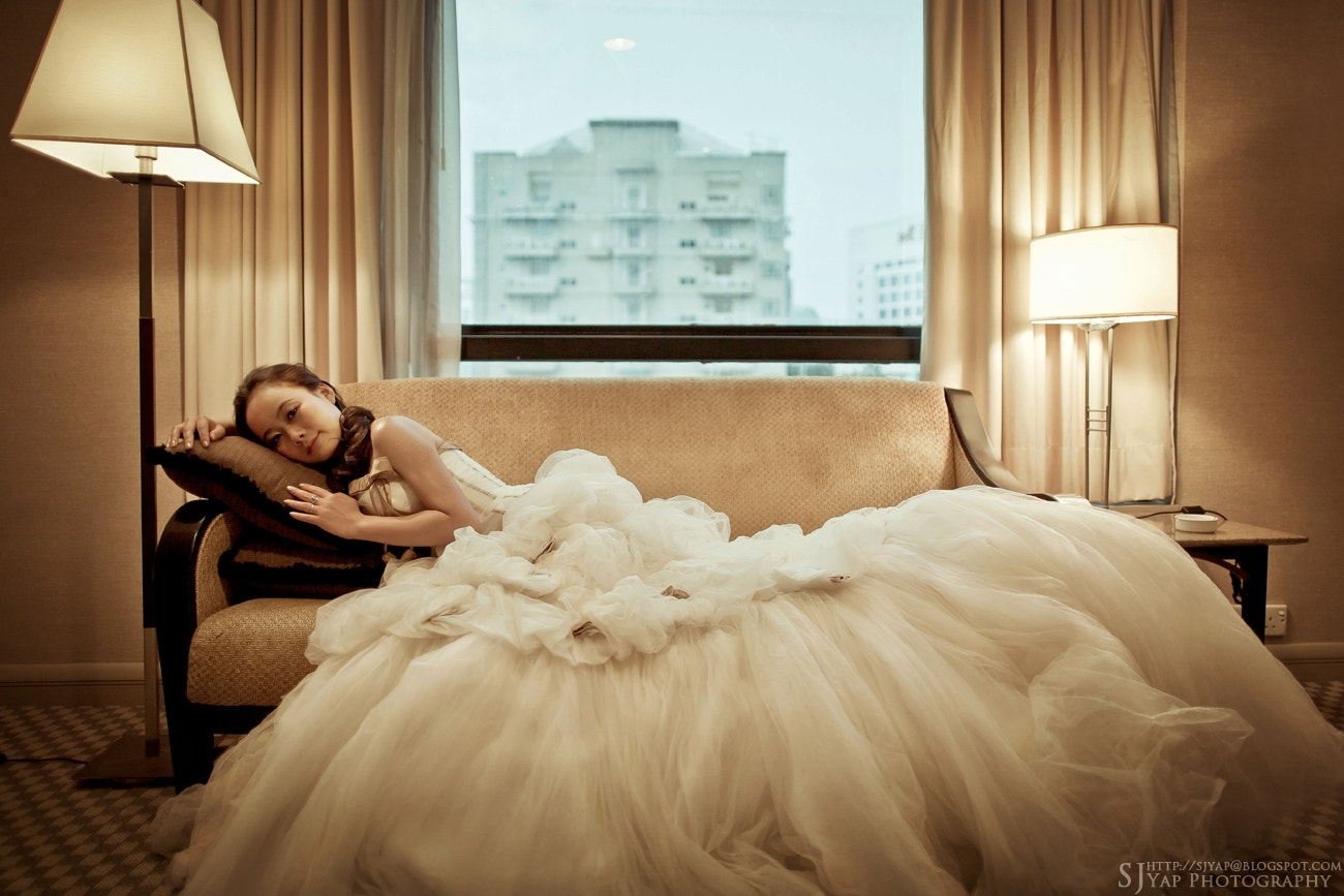 Photograph indoor bride by SJ Yap on 500px