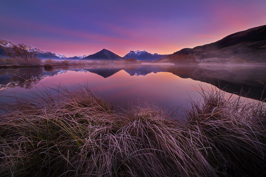 Photograph Glenorchy Frosts by Dylan Toh  & Marianne Lim on 500px