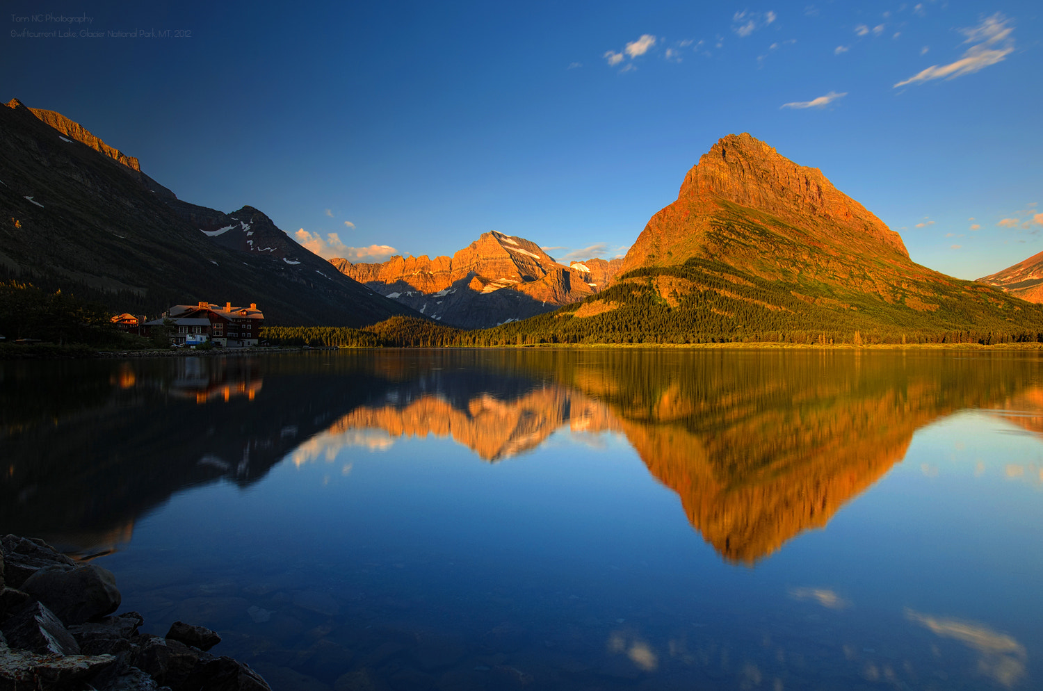 Photograph Swiftcurrent Reflection by Noppawat Charoensinphon on 500px
