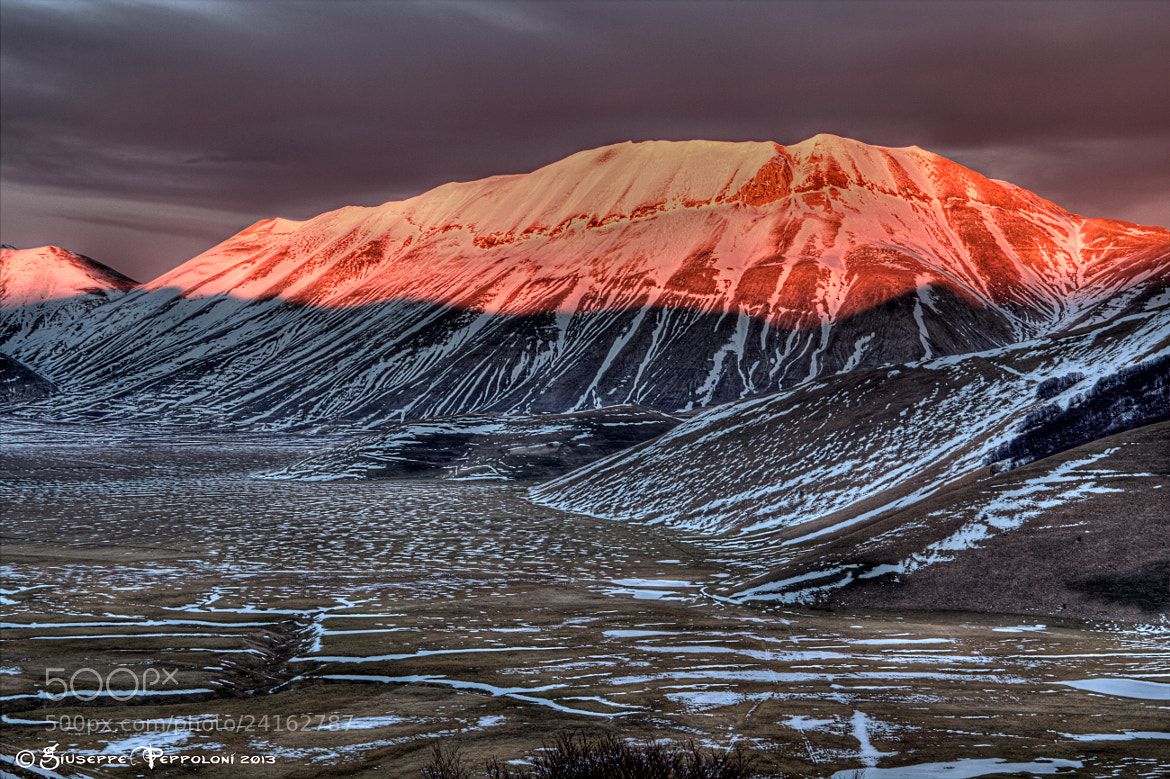 Photograph Red Sunset by Giuseppe  Peppoloni on 500px