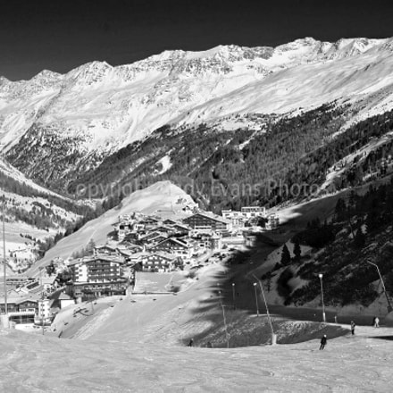 Obergurgl Hochgurgl Otztal Ski resort in the Western Tyrol Austr