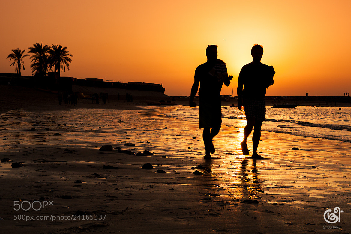 Photograph On the beach.. by sreeranj sreedhar on 500px