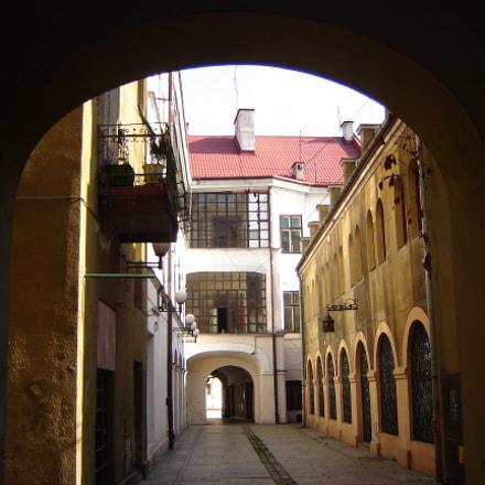 Tarnow old town, Sony DSC-S80