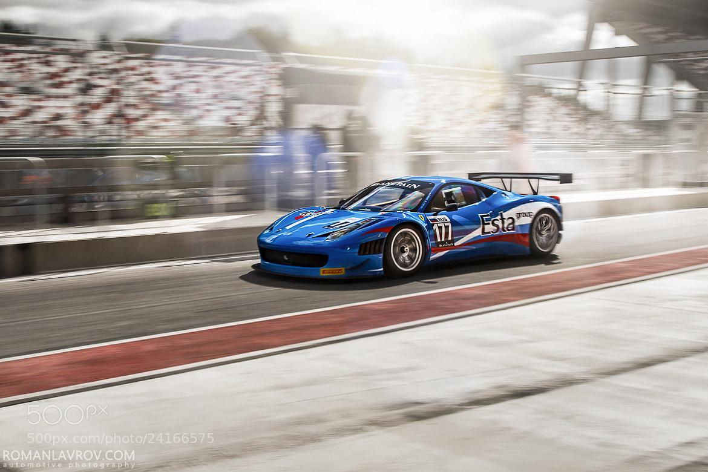 Photograph Ferrari 458 (Esta Motorsport) by Roman Lavrov on 500px