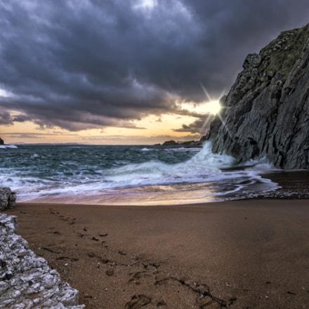 Sunrise at the Hidden Beach
