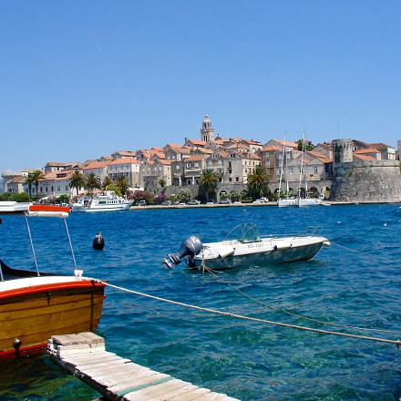 Croatia : Korcula, Sony DSC-V3