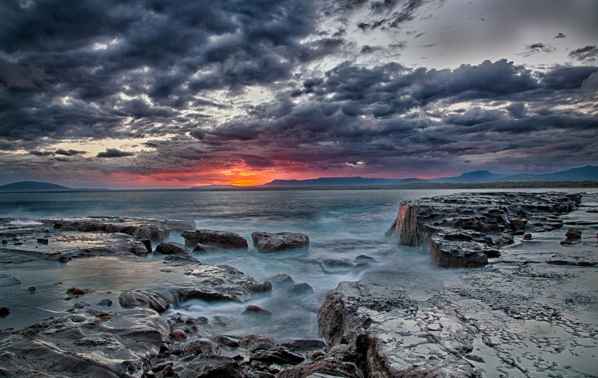 Photograph Black Point Gerroa by Ian Mills on 500px